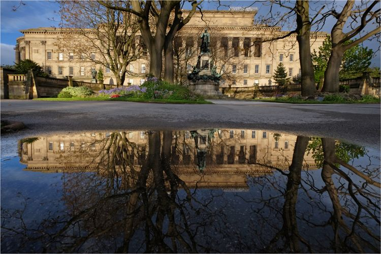 St. George's Hall Reflection at St. John's Park