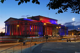 St Georges Hall in colour