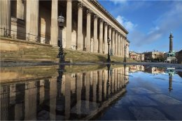 St. George's Hall Reflection