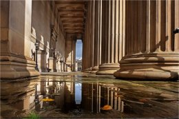 St. Georges Hall pillars Liverpool