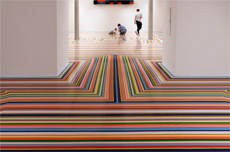 Stripes at Liverpool Tate