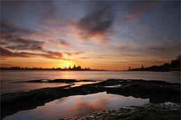 Sunrise over Liverpool
