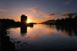 Sunrise over Narrow Water Co Down