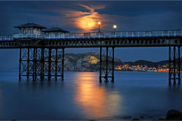 Super Moon at Llandudno