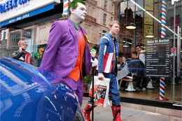 Superheroes in Bold Street