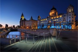 The Three Graces Liverpool Pier Head