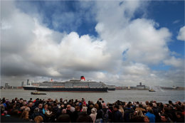 Three Queens in the Mersey