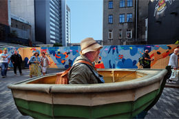 Urban fisherman