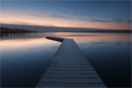 West Kirby Marine Lake at Dawn