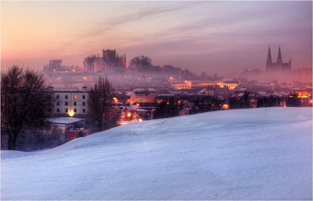 Winters Night Armagh City