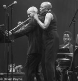 Dee Dee Bridgewater with Irvin Mayfield Jnr