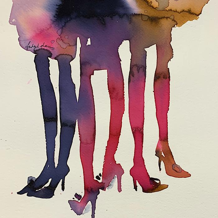Three Ladies Waiting