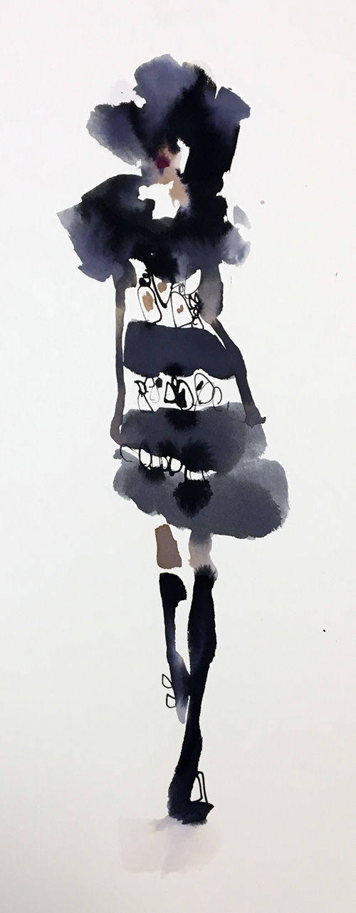 Catwalk Lace Dress