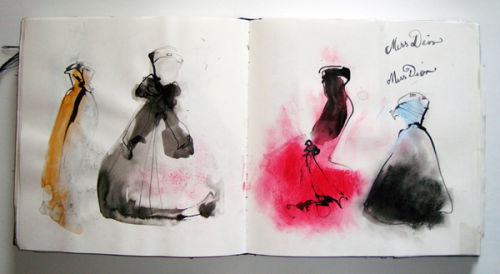 Black sketchbook 5
