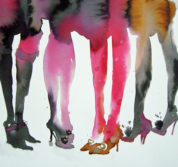 Crowd of Heels - <span style=