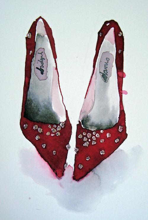 Diamond Shoes - <span style=