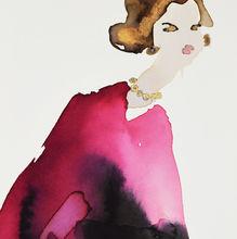 Lady 3 - Red Cloak