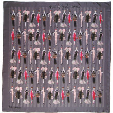 Silk Scarf - Wonderfully Glamorous