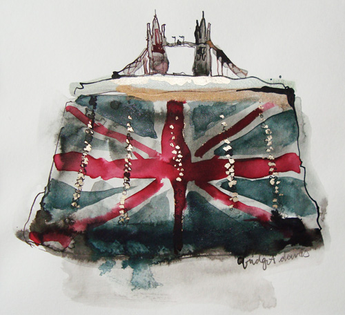 Tower Bridge Handbag Print