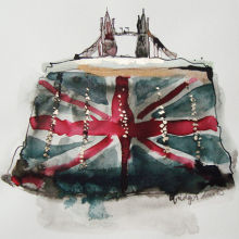 Tower Bridge Handbag Print