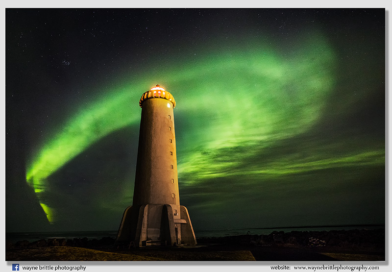 Lighthouse and the Aurora