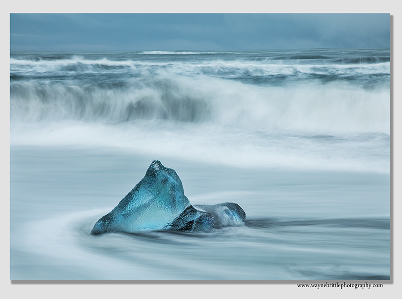 Ice and the waves 1
