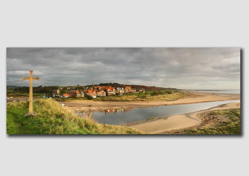 Alnmouth Panorama - NP091