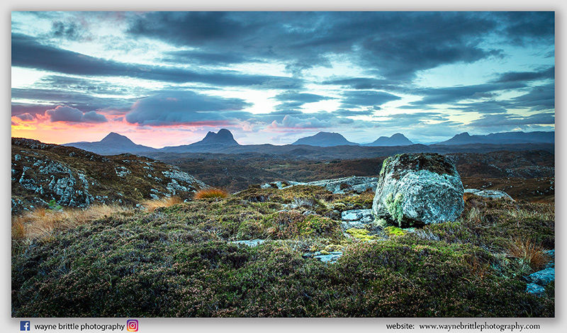 Assynt Mountain Dawn -5 - 5DSR5324