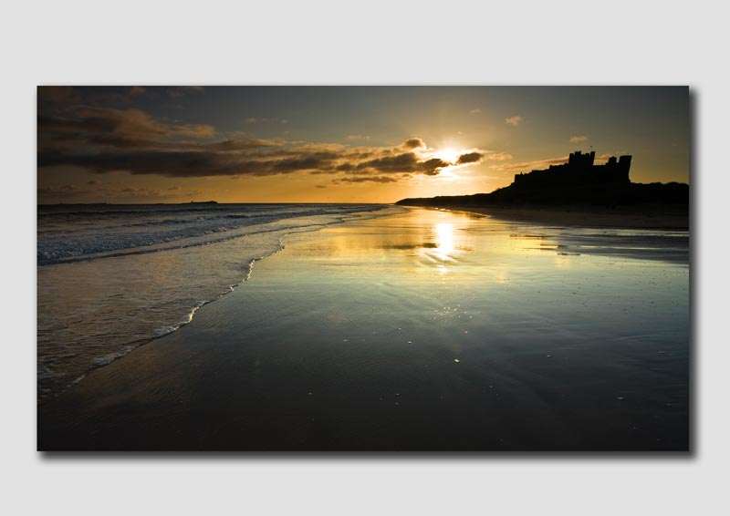 Bamburgh Castle at Sunrise - NS056
