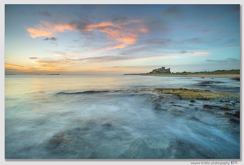 Bamburgh Beach Morning Light--2 - W5D45613
