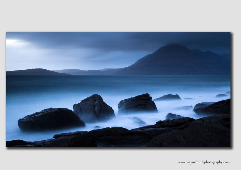 'Blue Glow' near Elgol - IOS1747