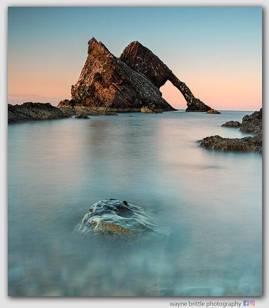 Bow Fiddle Rock - Last Light  -  3n  -  W5D46878