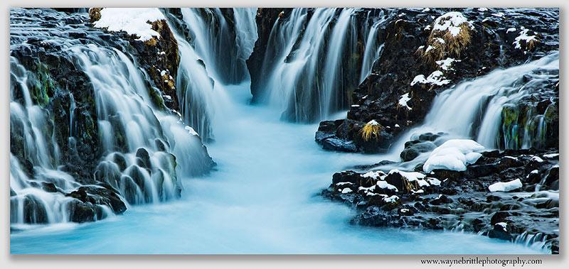Bruafoss Waterfall - 2