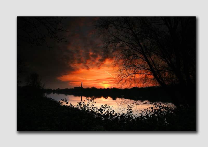 Burton Sunrise '1' - SS068 -  Staffordshire