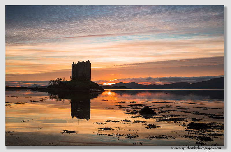 Castle Stalker Sunset 3