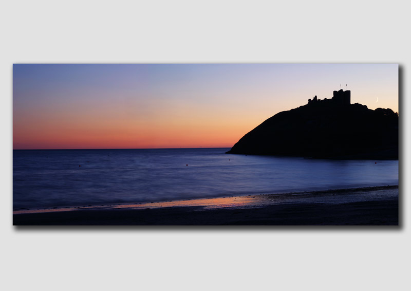 'The Afterglow' Crickieth Castle  -  WP015