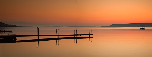 Dawn, Georgia Bay - Panorama - Ca001p