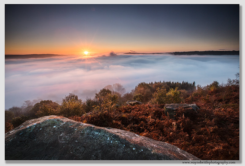 Dawn Inversion from Stanton Moor