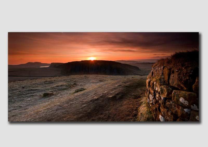 Dawn Panorama at Hadrians Wall - NP1001