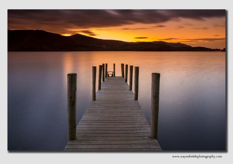 Derwentwater Jetty Sunset - Cumbria - LSW5D31308