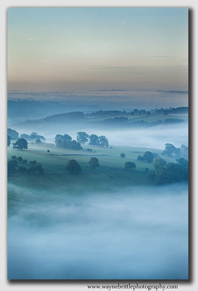 Dovedale Mist at Dawn - 8639