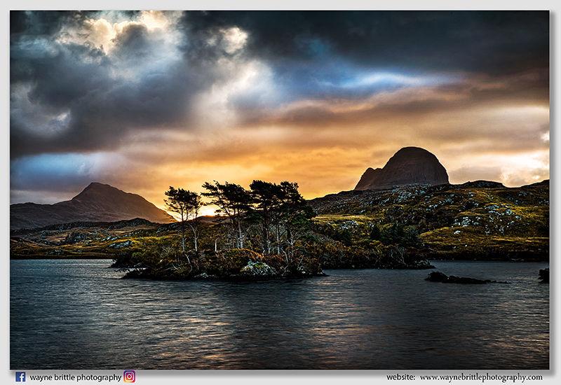 Drama & Light at Loch-Surdalain  -  DSR5492