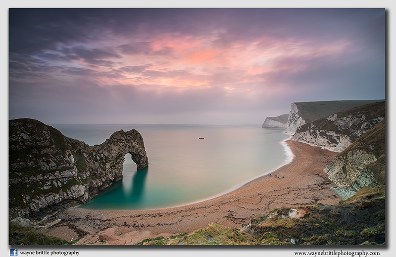 Last Light at Durdle Door