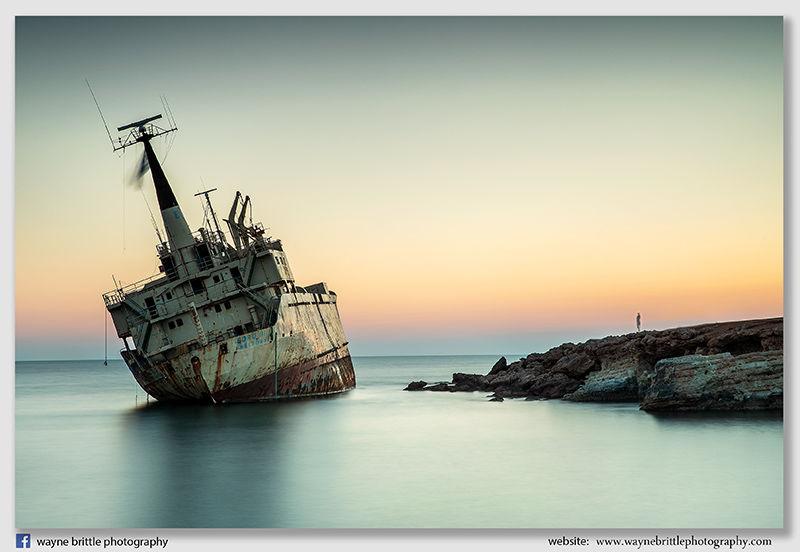 Edro III Shipwreck in Cyprus