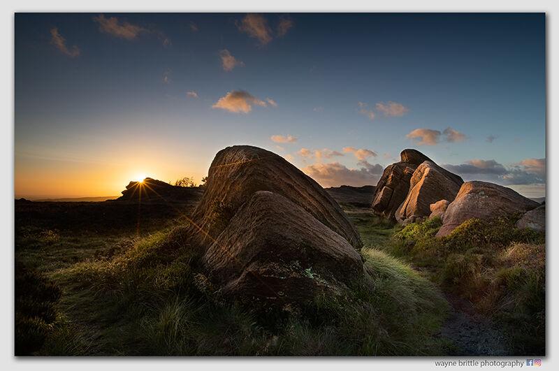 Evening Light on the Roaches - W5D44026