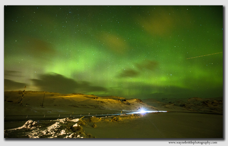 First view of Northern Lights