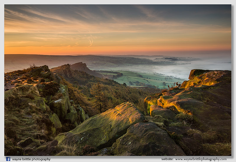 First sunlight on the Roaches -  W5D35192