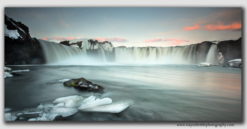 Godafoss Morning Light