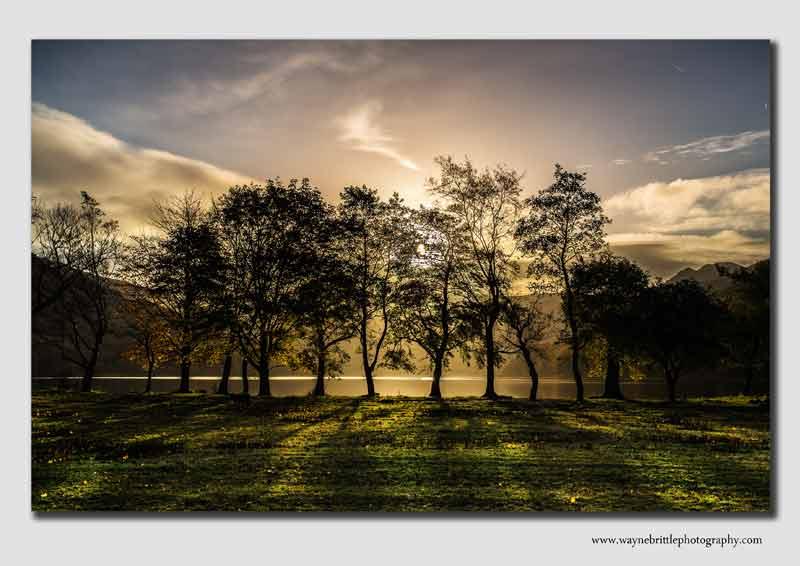 Golden Light - Buttermere End - Lake District - LSW5D31275
