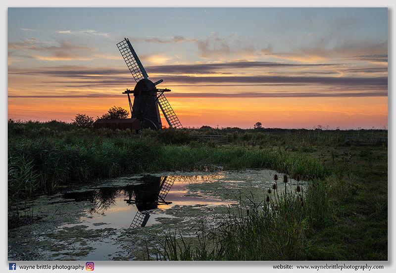 Herring Fleet Mill Sunset - W5D44862